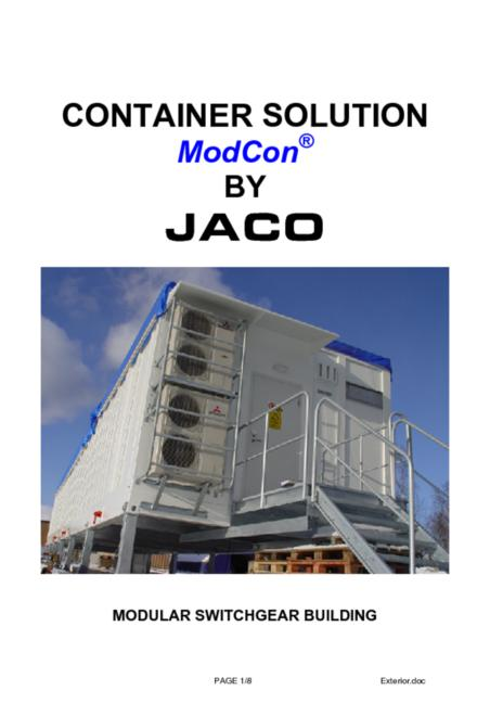 JACO Modcon brochure