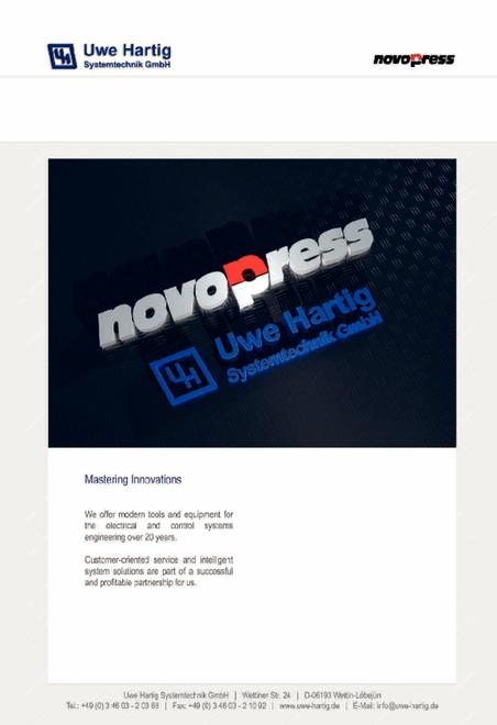 NovoPress / Uwe Hartig katalog