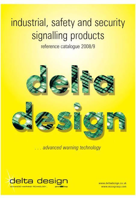 Delta design industrial catalogue