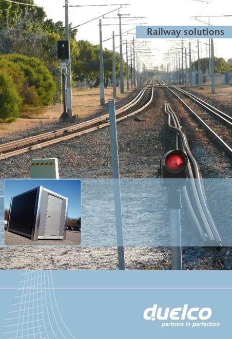 Duelco railway housing brochure