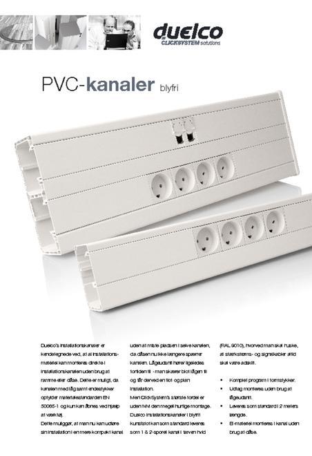 Duelco PVC kanaler