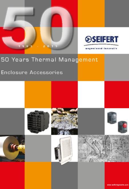 Siefert cabinet accessories brochure