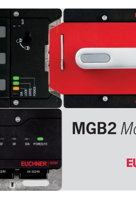 Euchner MGB2 Modular brochure