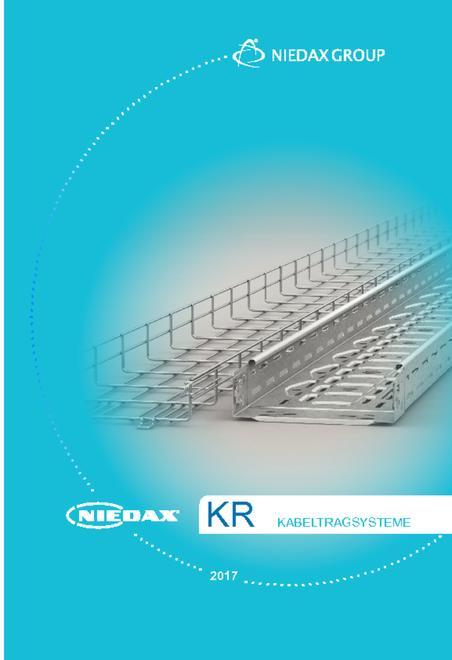 KR - Niedax kabelstiger- og bakker katalog