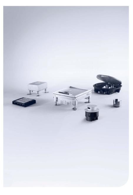 PUK Installation units for screed and hollow floors catalogue
