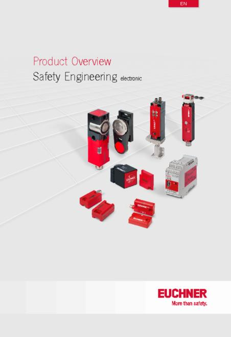 Euchner safety products overview