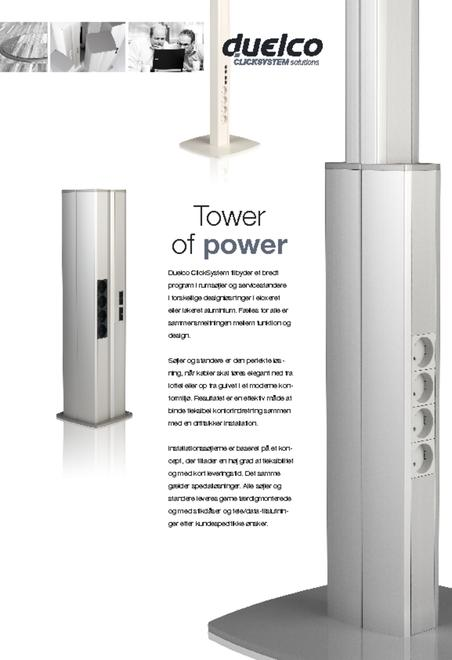 Duelco installationssøjler - Tower of power