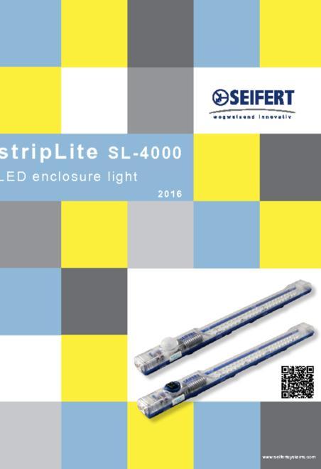 Seifert LED control cabinet brochure
