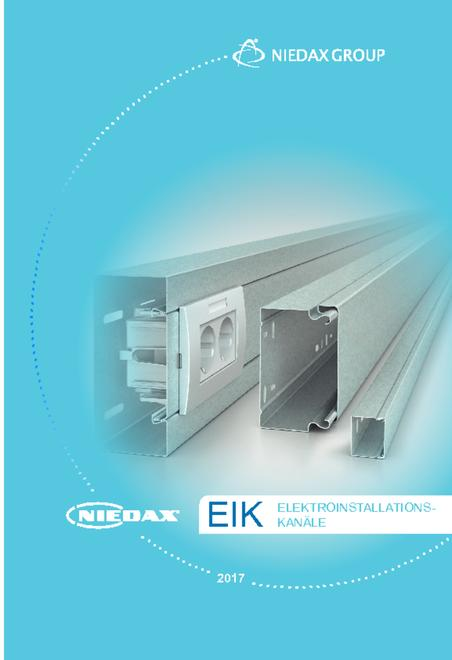 Niedax EIK cable duct systems catalogue