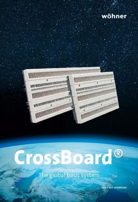 Wöhner CrossBoard brochure