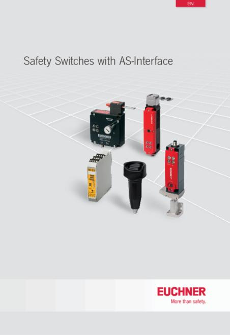 Euchner safety switches with AS-Interface catalogue