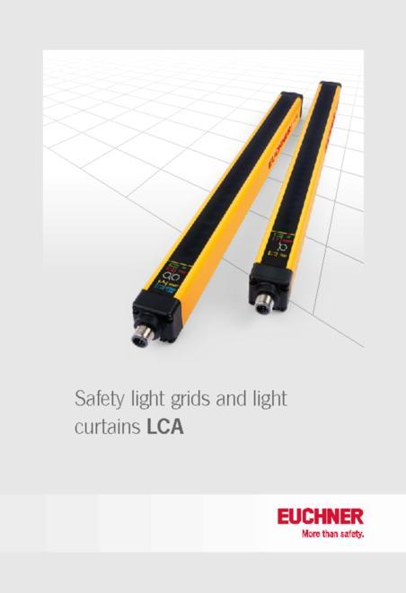 Euchner safety light curtains catalogue
