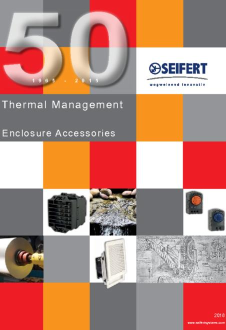 Seifert enclosure accessories brochure