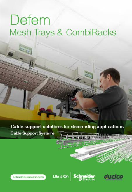 Defem Mesh Trays - Use and Installation catalogue