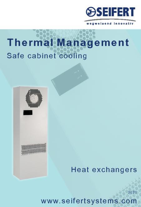 Seifert Thermal Management - Safe cabinet cooling brochure
