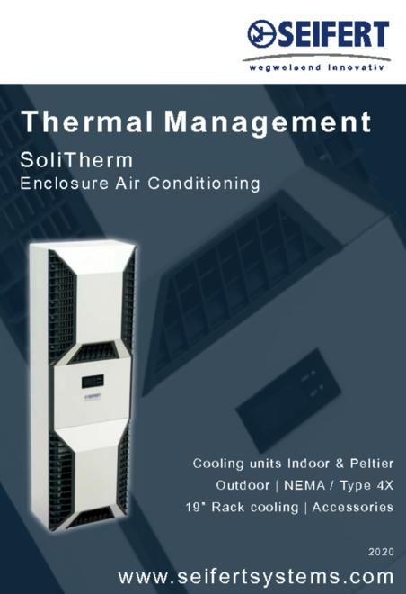 Seifert Thermal Management - SoliTherm - Enclosure Air Conditioning brochure