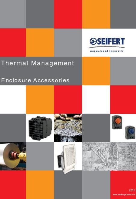 Seifert Thermal Management - Enclosure Accessories brochure