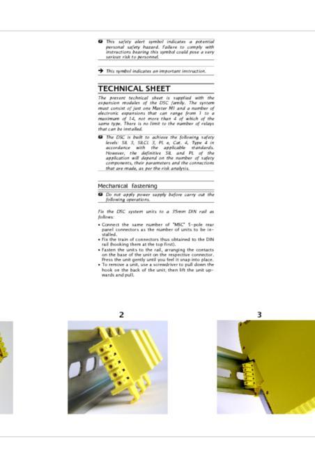 Duelco DSC-Expans modules manual