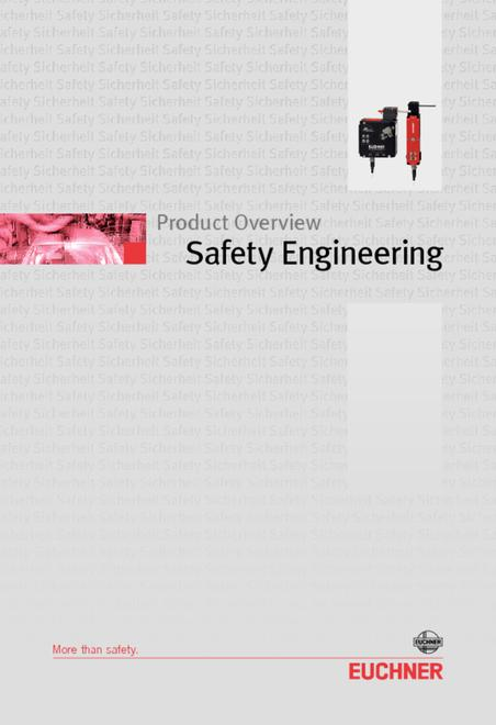 Euchner safety product overview