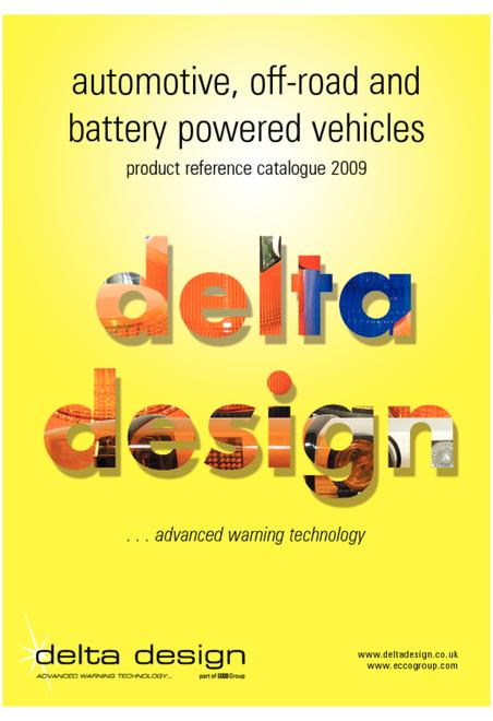 Delta Design automotive catalogue