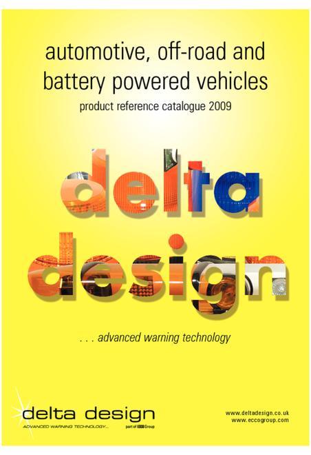 Delta Design automotive catalogue