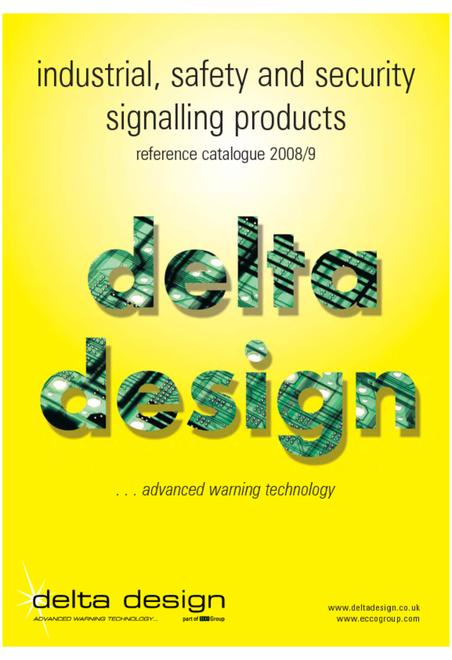 Delta design industrial catalogue