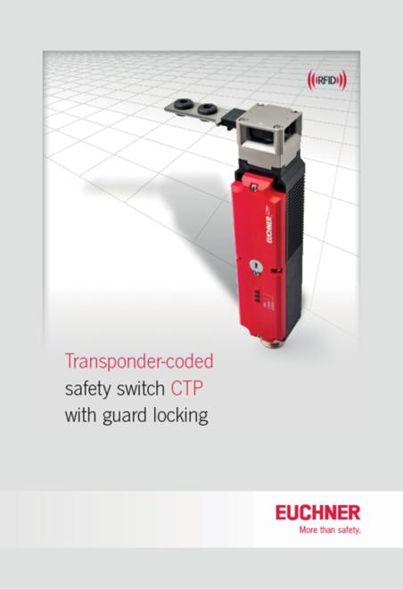 Euchner CTP brochure